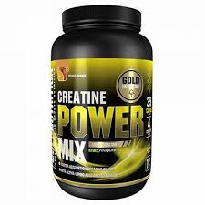 Creatine Power Mix cu aroma de mango si portocale, 1 kg, Gold Nutrition