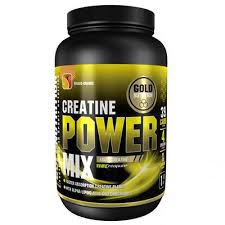 Creatine Power Mix, mango si portocale, Gold Nutrition, 1kg