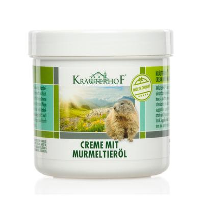 Crema cu ulei de marmota, 250ml