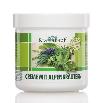 Crema pentru picioare cu extract de plante alpine, 250ml