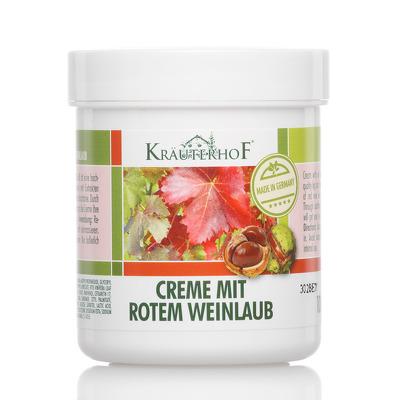Crema pentru picioare cu extract din frunze de vita de vie, 250ml