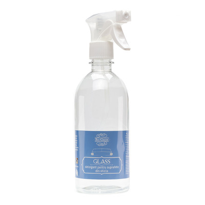 Detergent lichid pentru suprafete din sticla, 500 ml, BioGreen Glass
