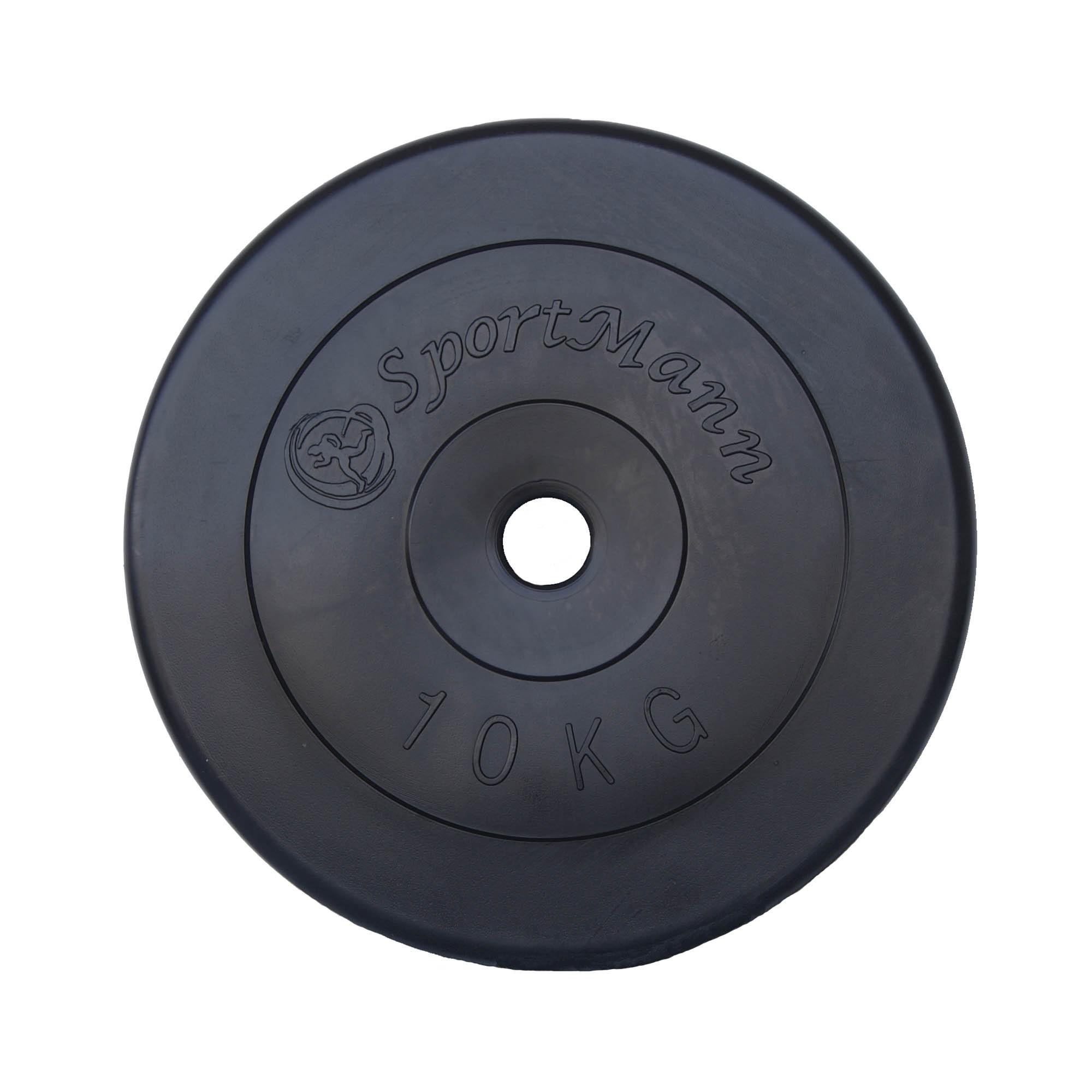Disc 10kg, diametru 30mm, umplut cu ciment
