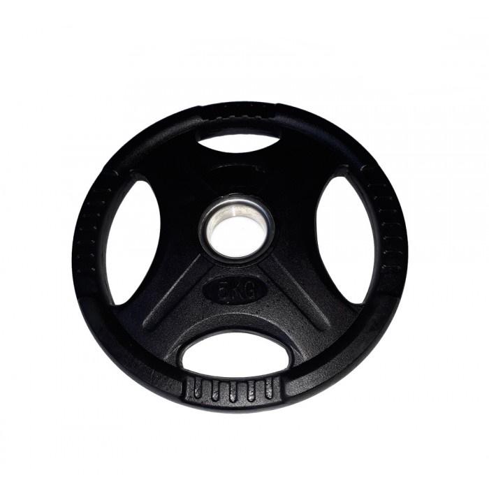 Disc olimpic 15kg cu inel metalic, diametru 50mm