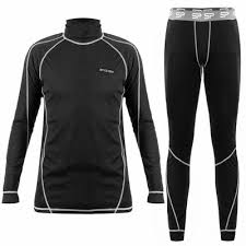 Echipament termic dama, bluza si pantalon pentru ski, NAKNEK, marime M