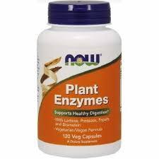 Enzime din Plante, 120 Capsule, Now