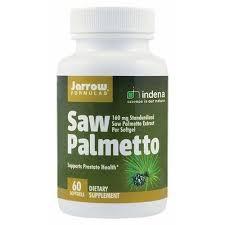 Extract din fruct de Palmier pitic, 160 mg, 60 capsule moi, Jarrow Formulas