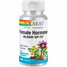 Female Hormone Blend, 100 capsule, Solaray