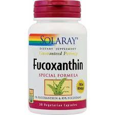Fucoxanthin, 30 capsule, Solaray