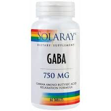 Gaba, 60 tablete, Solaray