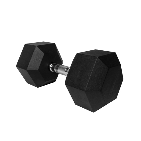 Gantera hexagonala cauciucata 12.5 kg, Dayu Fitness