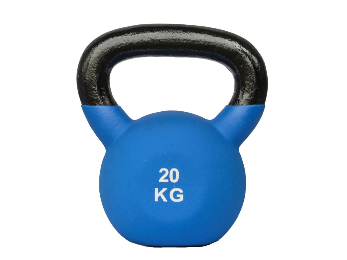 Gantera Kettlebell, neopren, 20kg
