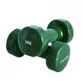 Gantere fitness 2 x 3kg - Insportline