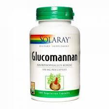 Glucomannan 600 mg, 100 capsule, Solaray