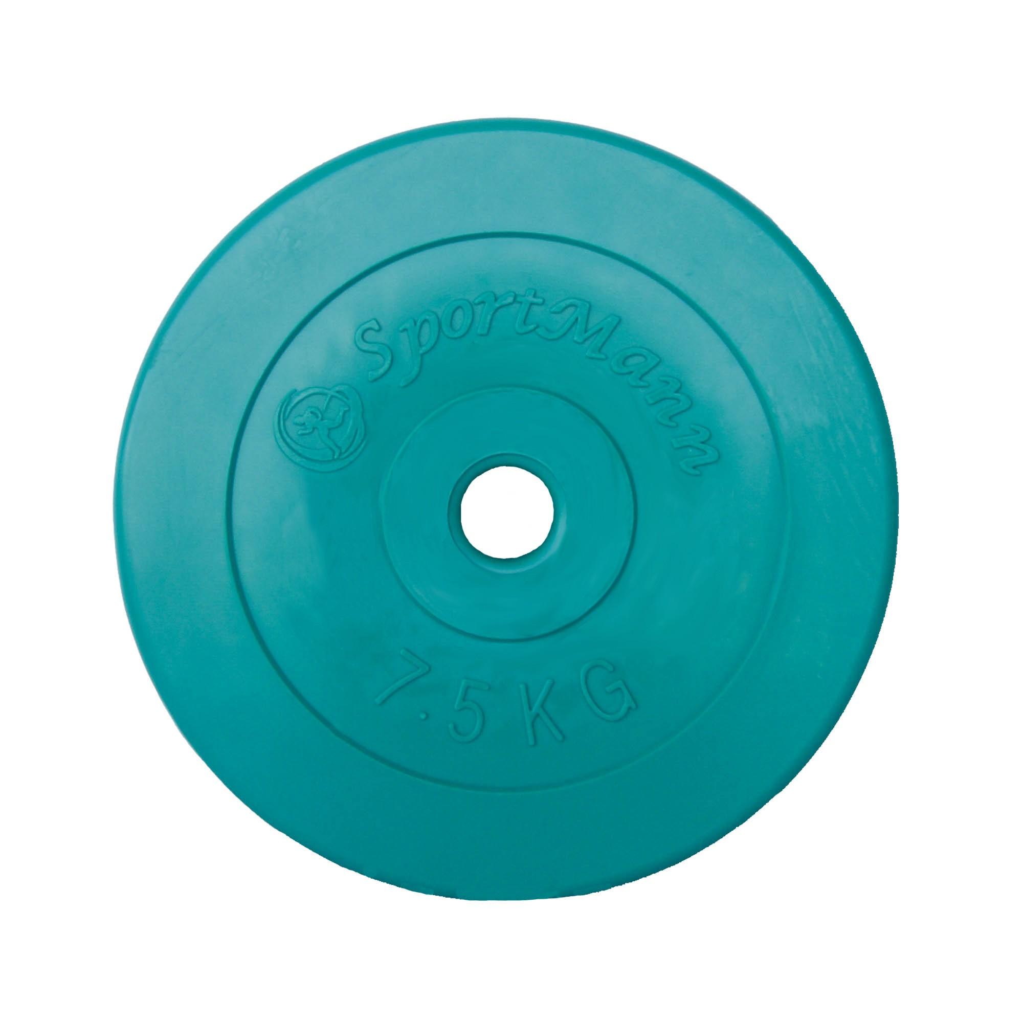 Greutate PVC, 7.5kg/31mm, verde