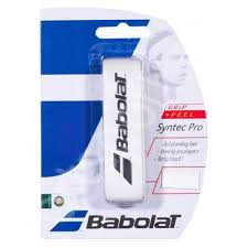 Grip racheta Babolat Syntec Pro - alb