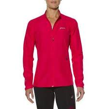 Jacheta alergare femei, Woven Jacket, roz, Asics