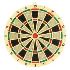 Joc Darts, 6 sageti multicolore, Solex