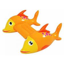 Jucarie gonflabila pentru piscina, peste, portocaliu