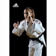 Kimono Judo Champion II aprobat IJF, 170cm, tricolor alb