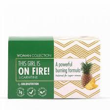 L-Carnitina pentru femei cu aroma de ananas, 15 fiole, Woman Collection