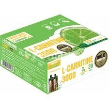 L-Carnitine 3000 mg, aroma de lamaie, 20 fiole