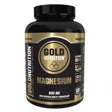 Magneziu 600mg, Gold Nutrition, 60 capsule