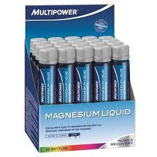 Magneziu lichid, 20 fiole x 25ml, Multipower