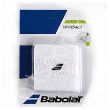 Mansete absorbante tenis Babolat Wristband - alb