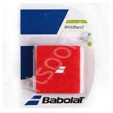 Mansete absorbante tenis Babolat Wristband - rosu