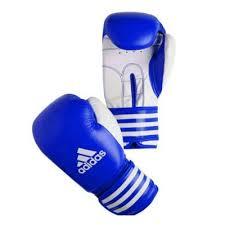 Manusi box antrenament Training, albastru, 10oz, Adidas