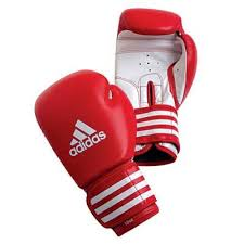 Manusi box antrenament Training, rosu, 8oz, Adidas