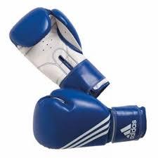 Manusi box Multi Training, albastru-alb, 12 OZ