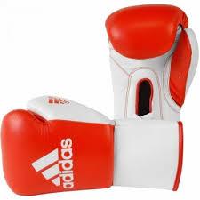 Manusi box profesionale cu scai Glory, rosu-alb,10 OZ