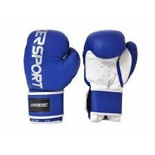 Manusi de box, 10oz, PU, albastru, Axer Sport