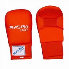 Manusi karate, rosu, marime S, Masibo