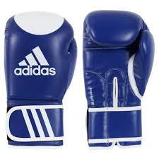 Manusi kickbox Kspeed 100, albastru, 14oz, Adidas