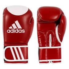 Manusi kickbox Kspeed 100, rosu, 12oz, Adidas