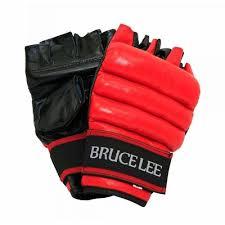 Manusi lupte libere Allround, L/XL, negru-rosu, Bruce Lee