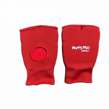 Manusi textile pentru sporturi de semi-contact, rosu, masura S