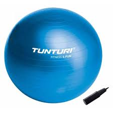 Minge aerobic si gimnastica, albastru, 90 cm, Tunturi