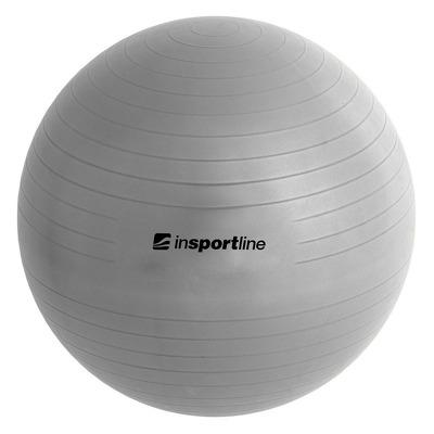Minge aerobic Top Ball, 45cm, argintiu, pompa inclusa