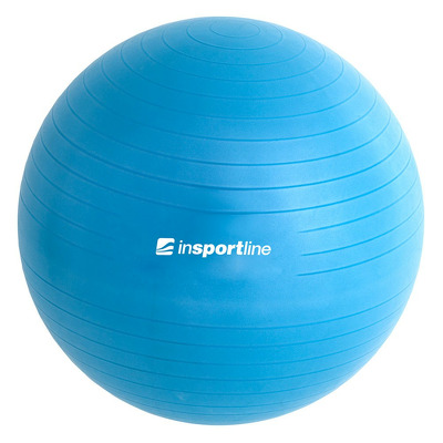 Minge aerobic Top Ball, 55cm, albastru, pompa inclusa