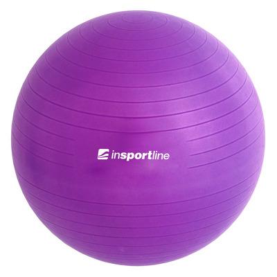 Minge aerobic Top Ball, 55cm, mov, pompa inclusa
