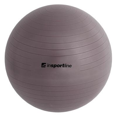 Minge aerobic Top Ball, 65cm, gri, pompa inclusa
