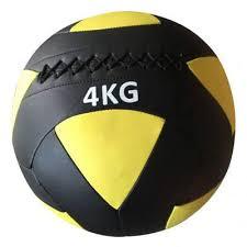 Minge crossfit pentru perete Wallball, 4kg, Rega fitness