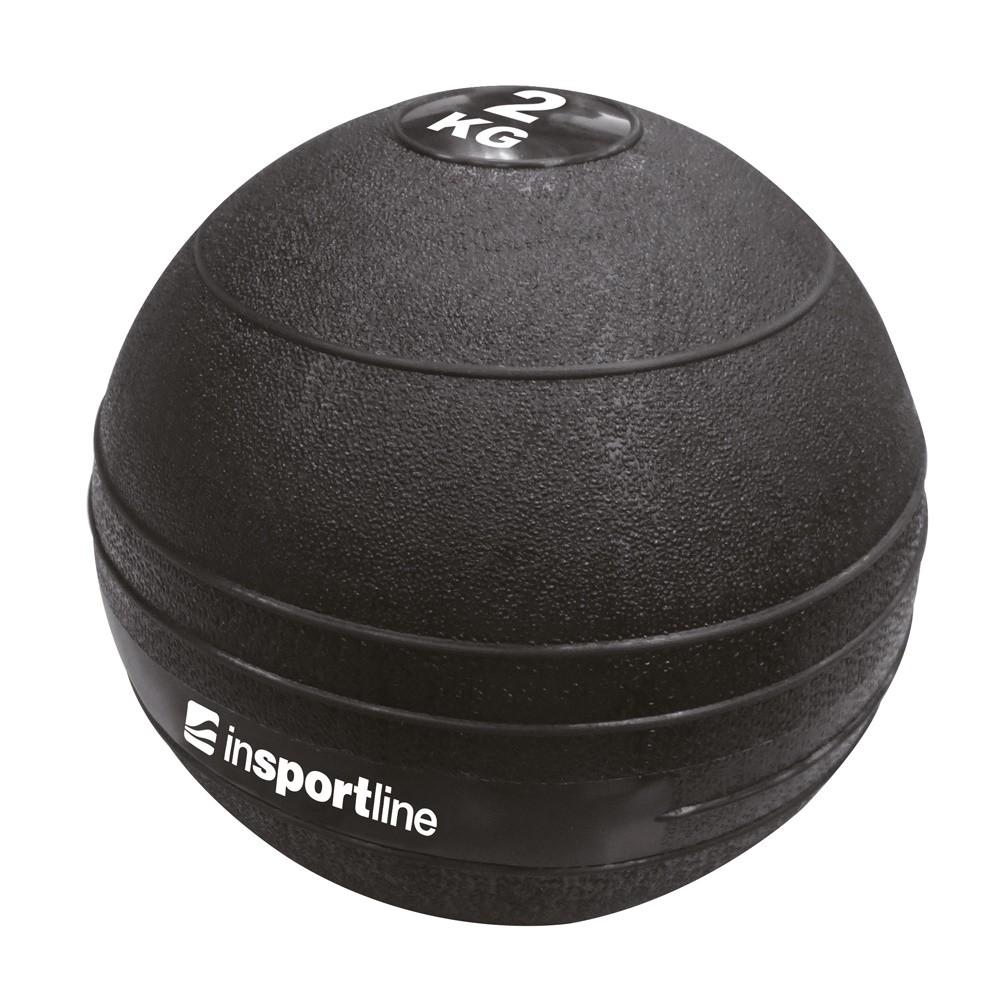 Minge exercitii crosffit Slam Ball, 2 kg, Insportline