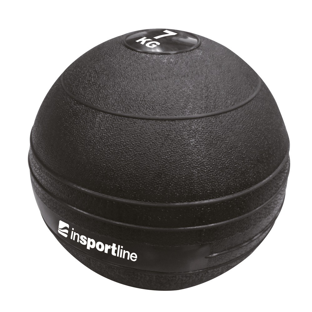 Minge exercitii crosffit Slam Ball, 7 kg, Insportline