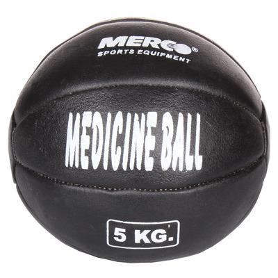 Minge medicinala din piele, 5kg, negru
