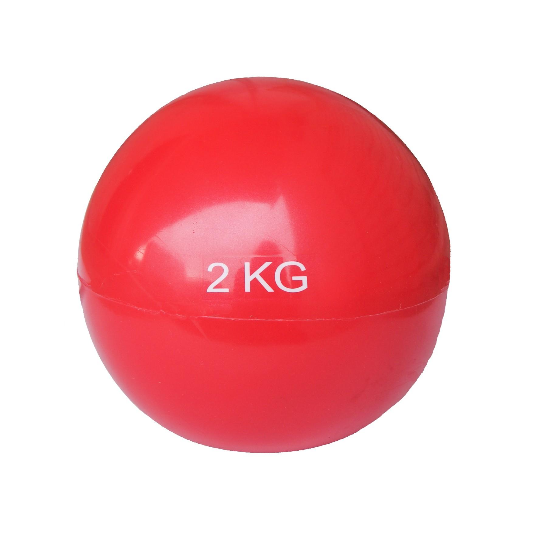 Minge yoga, rosu, 2 kg